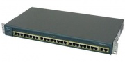 Коммутатор Cisco Catalyst WS-C2950-24 Layer2, 24 порта 10/100Base-TX (поддерживается IOS только SI в